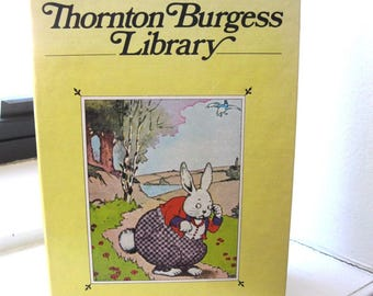 Tempo Thornton Burgess Library/Peter Cottontail/Reddy Fox/Sammy Jay/Johnny Chuck