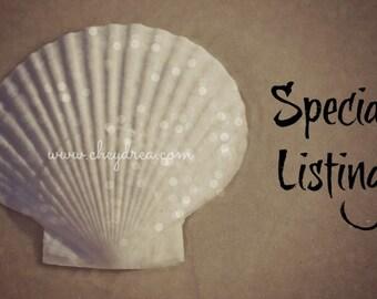 RESERVED for Kristan - 12 Large WHITE Starfish, Beach Wedding, Beach Cottage Decor, Beach House Decor, Shadowbox Beach Art Supplies,