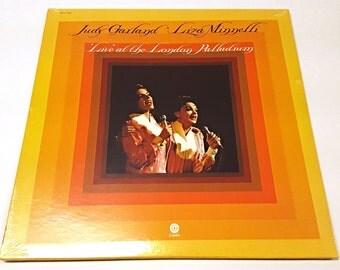 "Judy Garland - Liza Minnelli ""Live"" at the London Palladium Vintage Record NEW!"