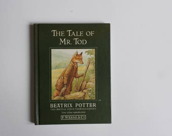 The Tale of Mr. Tod by Beatrix Potter | children's classics vintage book | Beatrix Potter children's books
