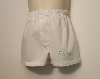 Personalized Baby Boy Boxers Diaper Cover New Baby Boy Gift