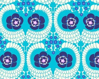 French Twist - SKY - PER 25CM - Amy Butler - VIOLETTE - PWAB141 - 100% Cotton Quilt Fabric