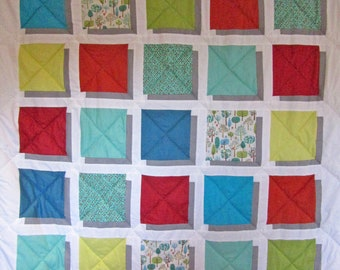 3-d Patchwork Quilt hand-made to order