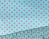 Polka Dots Snuggle Flannel Fabric By The Yard
