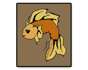 Goldfish - Cross Stitch PDF Pattern