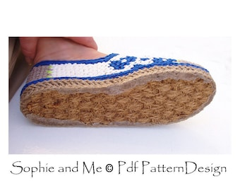Door-Mat-SOLES - ANY Size Customized Method. Turn home slippers into street shoes - Instant Download
