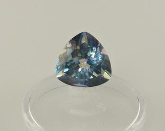 S20-  Blue Mystic Topaz- 14 mm Trillian- 9.10 ct.