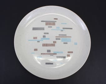 Vintage Santa Anita Ware 'Flagstone' Mid Mod Platter (E8473)