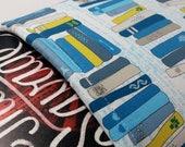 Blue Book Shelf Typewriter Book Sleeve Foam Lining Ready to Ship