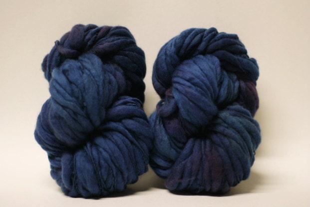 Yarn Thick And Thin Mixed Merino Wool Bulky Hand Spun Wool