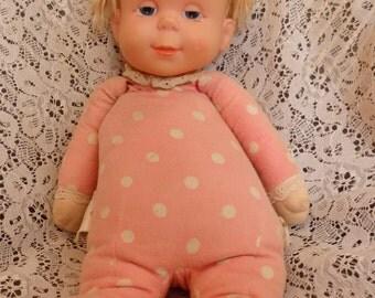 Original vintage 1964 Mattel Drowsy Baby Doll