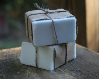 November Rain goat's milk soap
