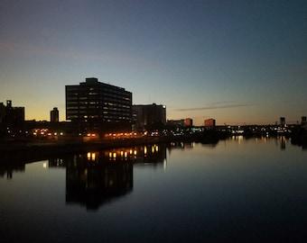 Newark photo print