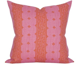 Fez pillow cover in Pink/Orange