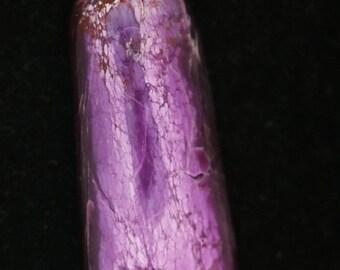 Sugilike pendant silver bail 66ct