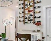 Wine Rack 12 Bottle Ladders - Set of 2