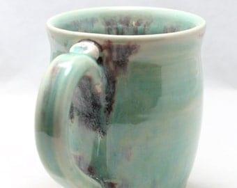 14 oz Pottery Mug Candied Apple Ceramic Coffee Cup
