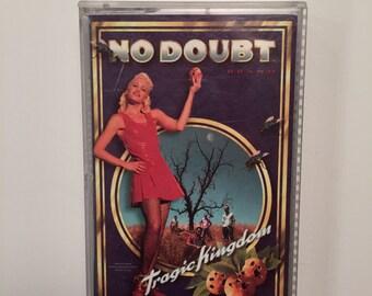 No Doubt Tragic Kingdom CASSETTE TAPE 1995