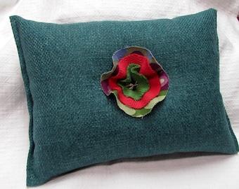 Toss Lumbar Accent Pillow 11x14 decorative throw in teal