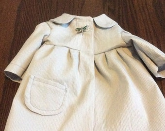 Dove Grey Coat