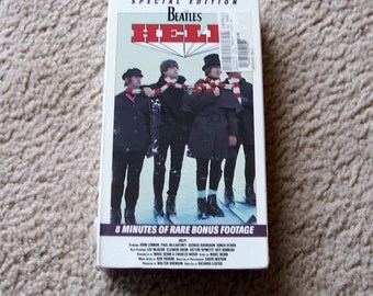 The Beatles Help VHS Movie - NEW