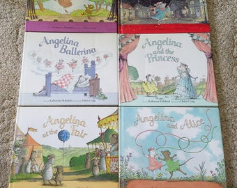 Angelina's Book Lot of 6 books
