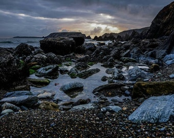 Low tide at Marloes Cove, Pembrokeshire // Digital download