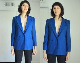 Vintage Pendelton Cobalt Blue Blazer size 4
