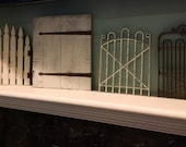 4 miniature gates home decorating rustic country design