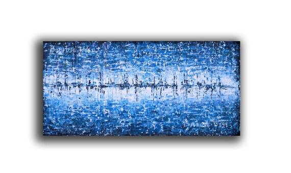 abstrakte Kunst Acryl Malerei Wand Kunst home-Office von baronvisi