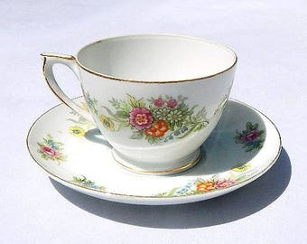 Richie China Made In Occupied Japan Vintage Tea Cup and Saucer