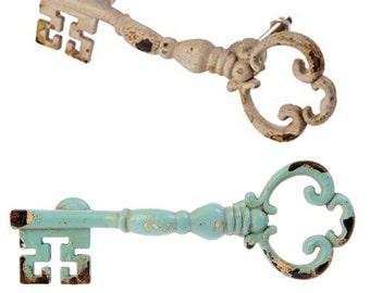 Rustic Key door knob