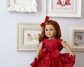 "Victoria 18"" Doll Dress PDF Pattern Tutorial,  Ebook, Epattern, Sizes 18"" Doll - American Girl Doll"