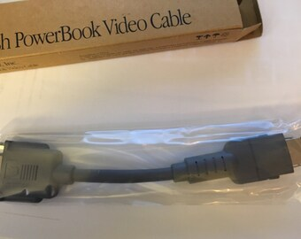 MACINTOSH POWERBOOK Video CABLE 1992