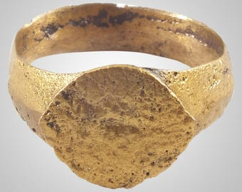 Authentic Ancient Viking  wedding Ring Band , wedding band, wedding ring, norse jewelry, Norse wedding,  C.866-1067A.D. Size 8 (BRR1116)