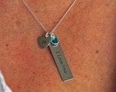 Personalized jewelry, personalized quote, custom, charm, handwritten jewelry, memorial jewelry, handwriting necklace, handwriting jewelry