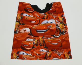 Pixar cars pullover baby or toddler bib