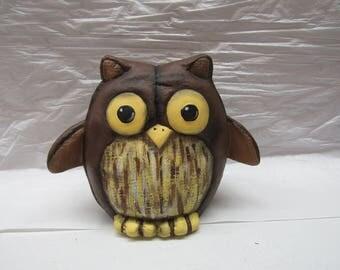 Owl Painted Ceramic