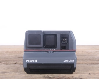 Polaroid Impulse Camera / Polaroid Camera / Old Polaroid Camera / Vintage Polaroid / Retro / Old Camera / Antique Polaroid Land Camera