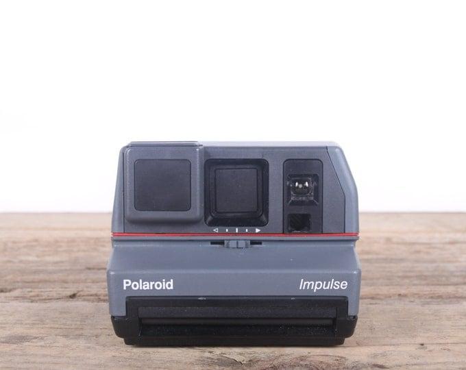 Polaroid Impulse Camera / Polaroid Camera / Old Polaroid Camera / Vintage Polaroid / Retro / Old Camera / Antique Polaroid Land Camera