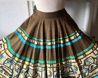 Mexican Skirt Size Medium Glamourous and Comfortable!