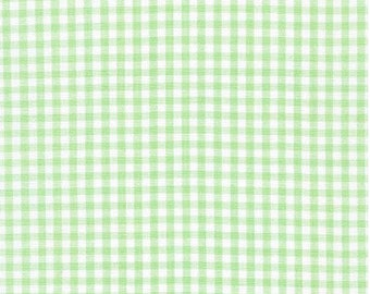 Mint Green 1/8 Inch Small Gingham from Robert Kaufman's Carolina Gingham Collection - P-5689