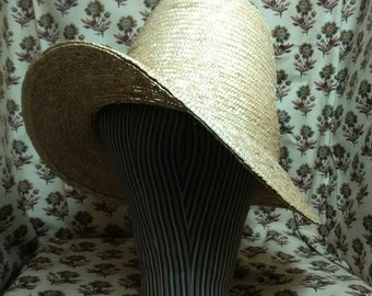 Chapeaux de Paille - First Hat of the Season - by Anna Worden Bauersmith