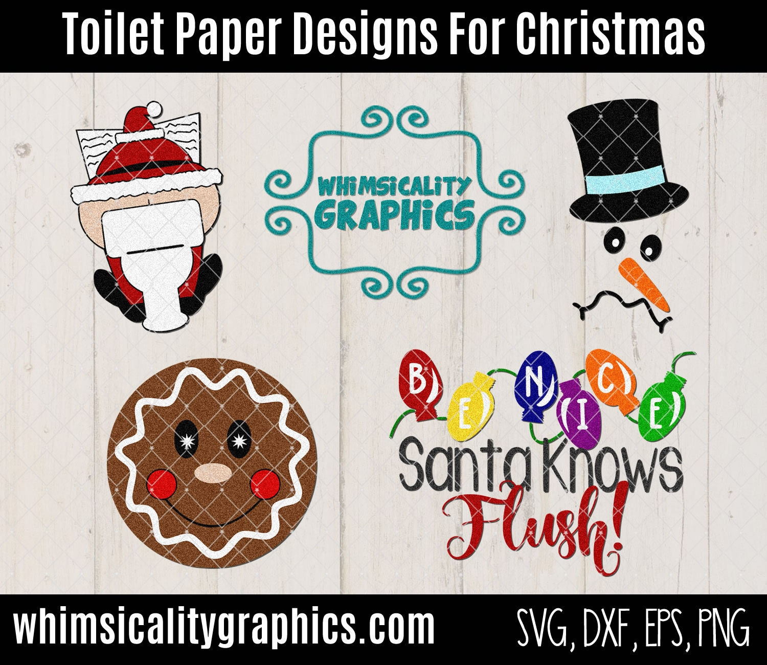 Toilet paper designs for christmas with svg dxf png for Design your own toilet paper