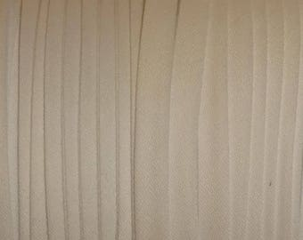 "10yd White 1/4"" Double Fold Bias Tape Superior Quality Fabric Trim Poly/Cotton Made in AMERICA"