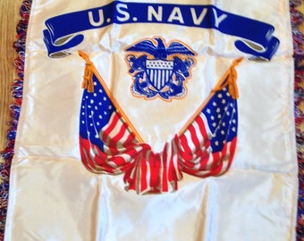US Navy Pillow Sham