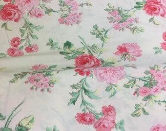 Free spirit verna mosquera - rosewater - garden romance by the Half metre