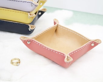 Leather Tray -  Ready to Ship