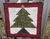 Oh Christmas Tree Quilt, Holiday Quilt, Christmas Quilt,1127-02
