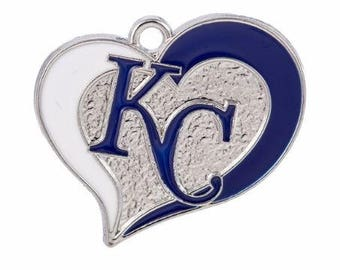 26mm. 1CT. Kansas City Inspired Charm/Pendant, Y33